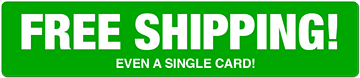 free shipping! even a single card